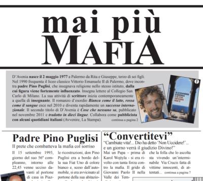 NO alla Mafia! Pubblicazione realizzata dai ragazzi del CIOFS di Ladispoli