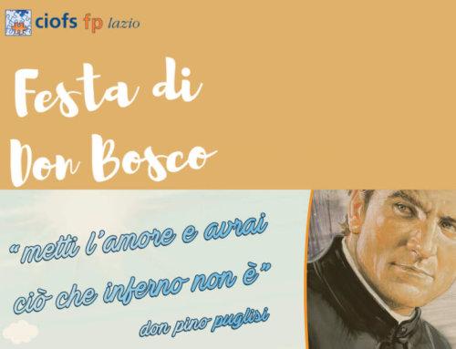 Festa di Don Bosco 2020 e Formazione Lavoro!